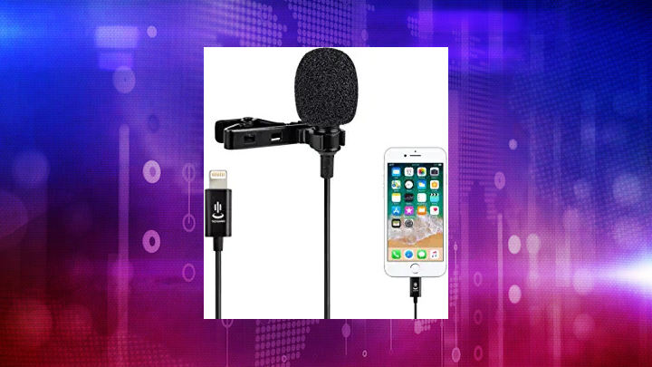Microphone kit for iPhone,Lavalier Lapel Microphone ...